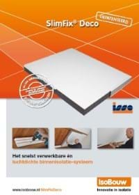 Productinfo SlimFix Deco zolderisolatie