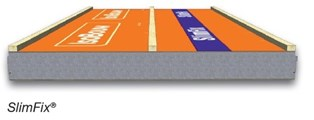 Een SlimFix dakplaat zonder langslatten